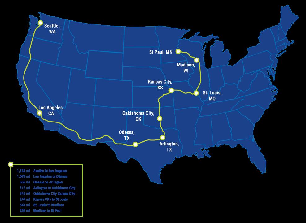 Tour De Pj Map